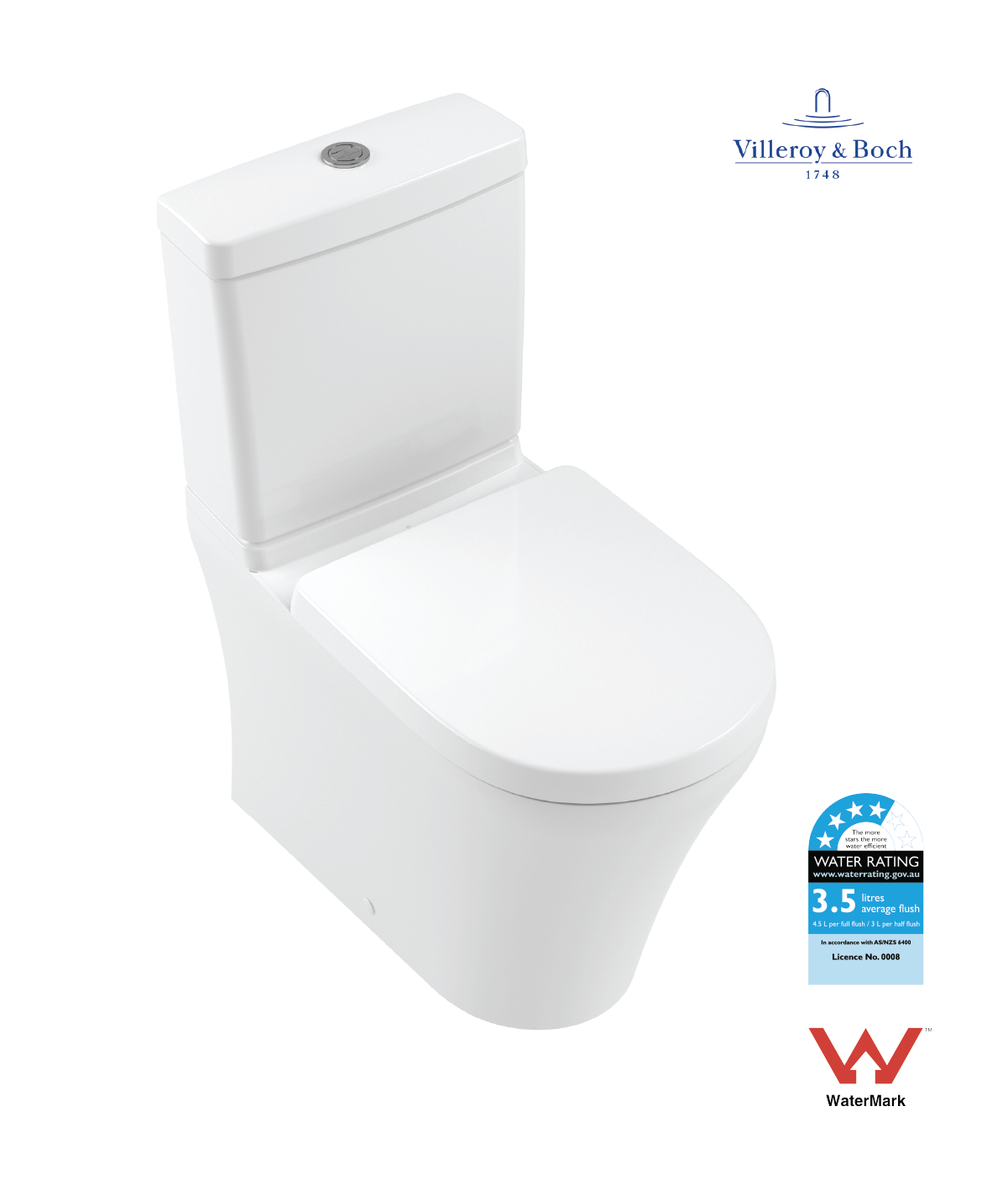 Villeroy Boch Back To Wall Rimless